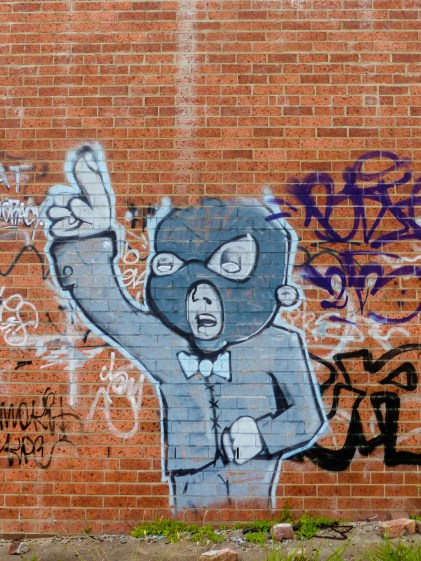 Street Art - Newcastle - October 2015 - In Alley Between Hunter and King - Unknown 10