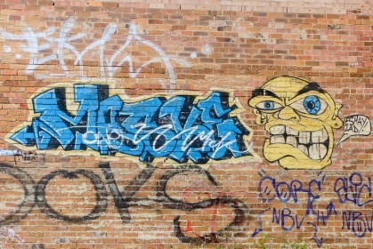 Street Art - Newcastle - October 2015 - In Alley Between Hunter and King - Unknown 8