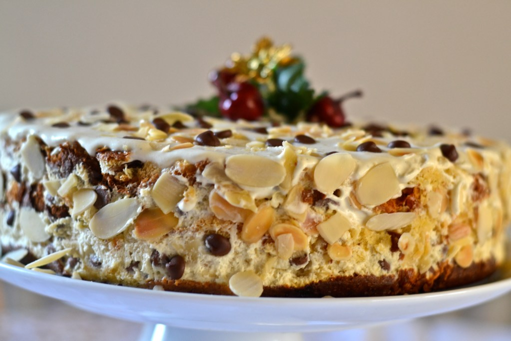 Selfridges Christmas Challenge: Layered Panettone Christmas Cake
