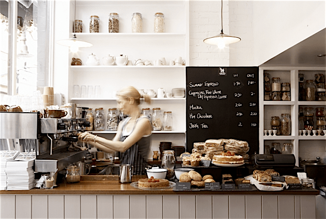 Top ten coffee shops in London