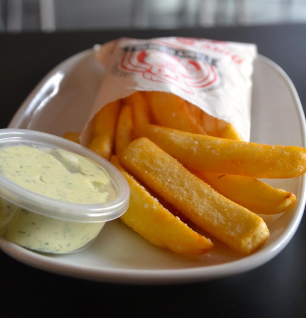 Fancy Burger Chips