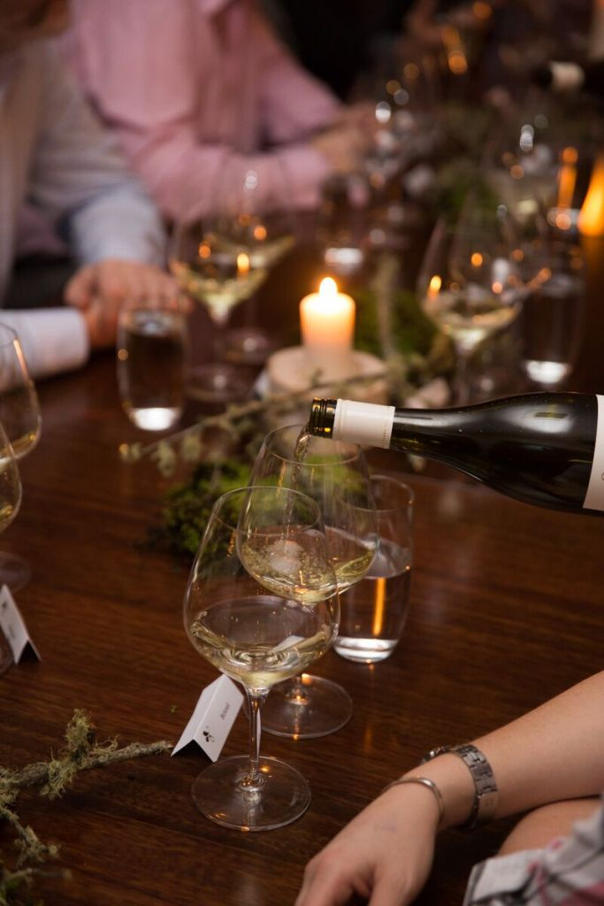 The Forager Dinner Oakridge Wines