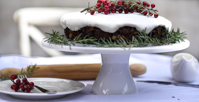 Farmhouse Christmas Fruit Cake