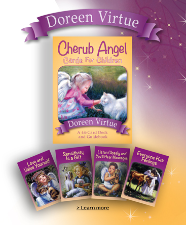 Cherub Angle Cards for Children From The Heart