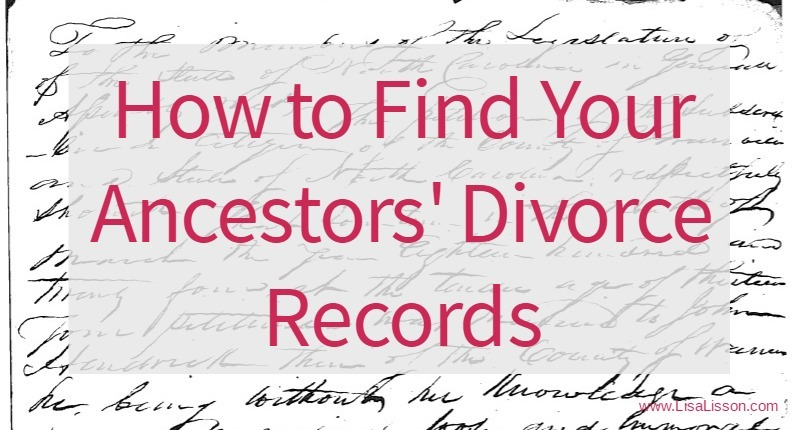How to Find Your Ancestorsu0027 Divorce Records Are You My Cousin? - work thank you note