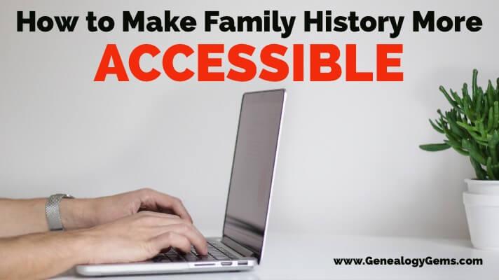 Writing Family History Genealogy Gems