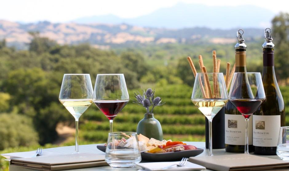 MacRostie Estate House Wine Tasting