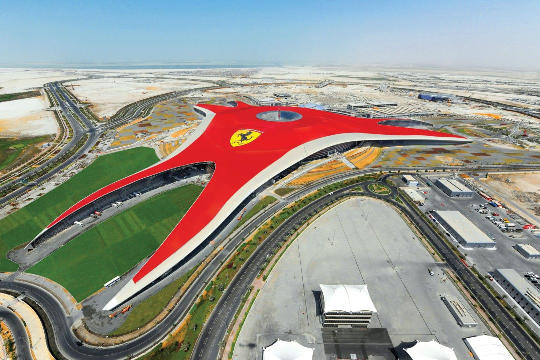 Ferrari World - Abu Dhabi UAE