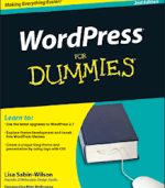 WordPress For Dummies, author Lisa Sabin-Wilson, Amazon.Com