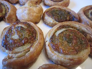 Pesto Puff Pastry Pinwheels