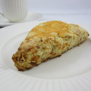My Family's Breakfast Solution:  Pancetta and Cheese Scones