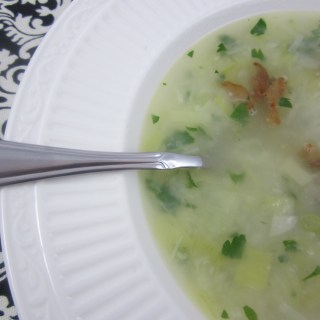 The Best Potato and Leek Soup….Really!