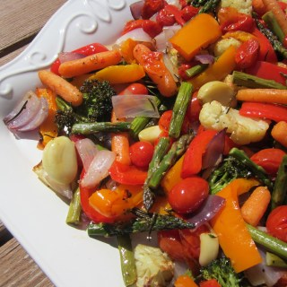 Rosemary Scented Roasted Vegetables