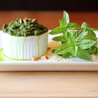 Fresh From the Farmer's Market Pesto