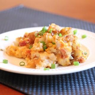 Cheesy Chicken Tator Tot Casserole