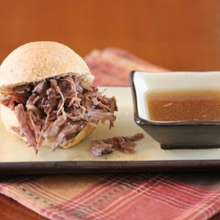 Easy Slow Cooker Beef Au Jus