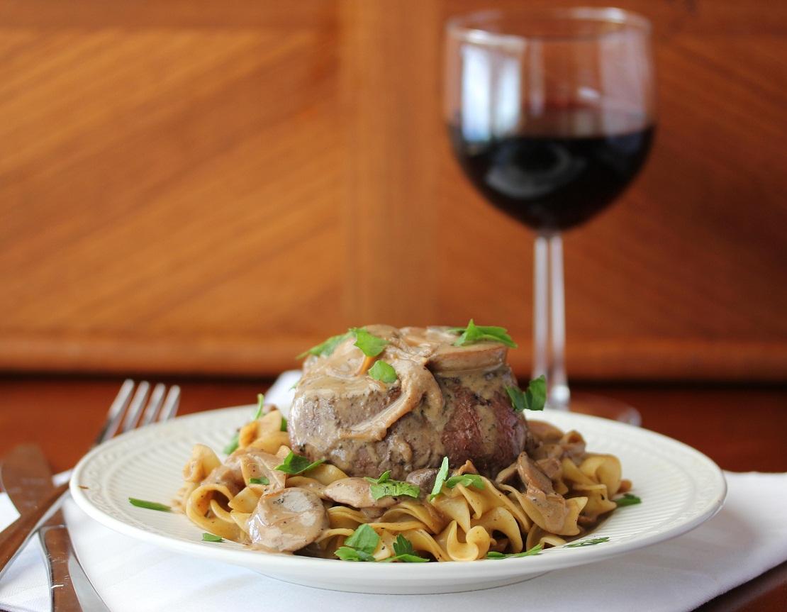 Filet Mignon with Stroganof Sauce - Lisa's Dinnertime Dish for Great ...