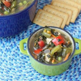 Very Veggie Chicken Vegetable Soup