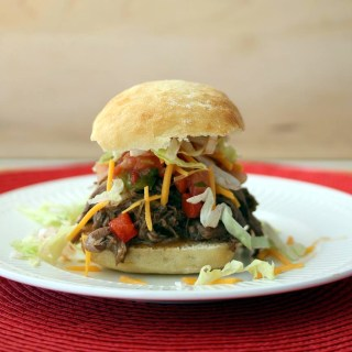 Slow Cooker Mexican Beef Sandwiches