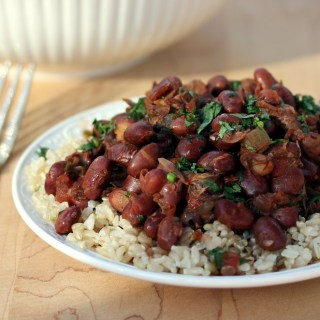 Slow Cooker Red Beans and Pork