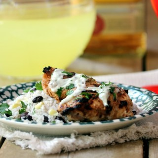 Margarita Chicken with Fiesta Rice