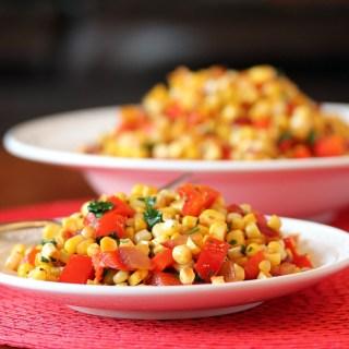 Fiesta Corn Saute