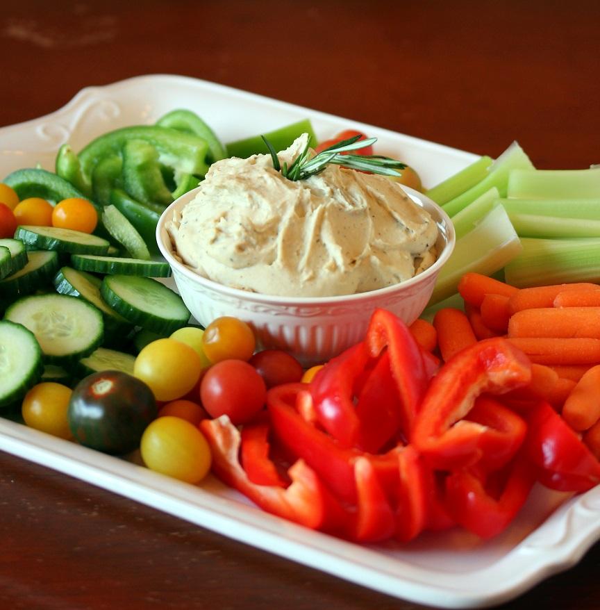 Rosemary and Garlic White Bean Dip - Lisa's Dinnertime Dish for Great ...