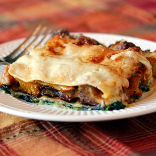 Spinach and Butternut Squash Lasagna