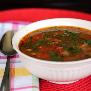 Cannellini Bean and Sausage Soup