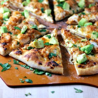 Chipotle Ranch Crispy Chicken Pizza