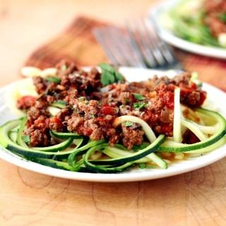 Turkey Veggie Bolognese