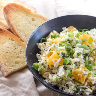 Crab Salad And Sourdough Panini Recipe — Dishmaps