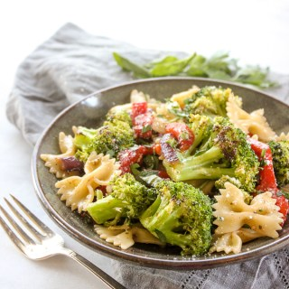 Roasted Broccoli Summer Pasta Salad