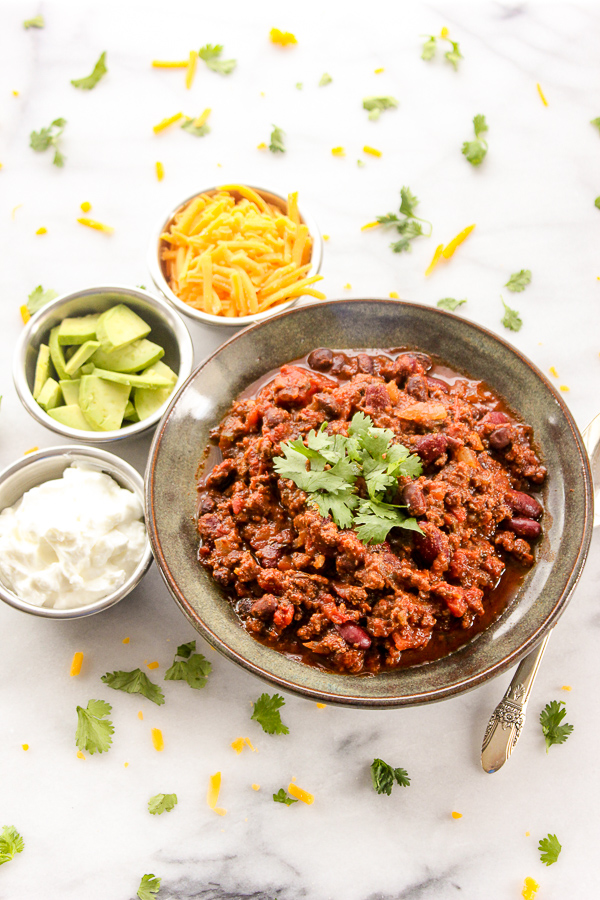 Winning Game Day Chili