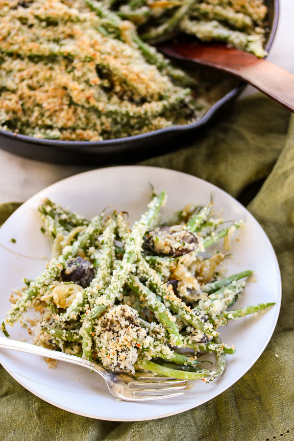 ... Bread Crumb topping to create this scrumptious panko Parmesan Topped
