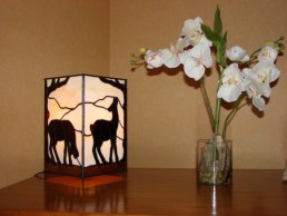 """Doe"", 2006, tiffany, lamp"