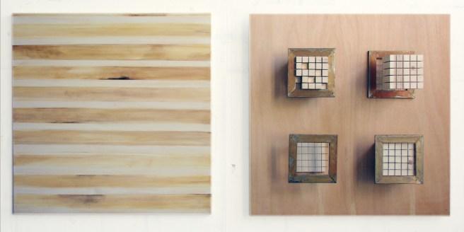 """Passe Partout"", 2008, wood, steel, acrylic on canvas"