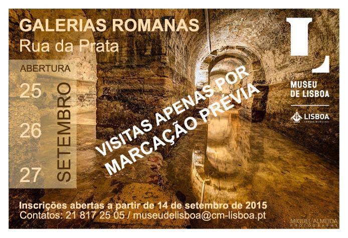 Visites Galeries Romaines