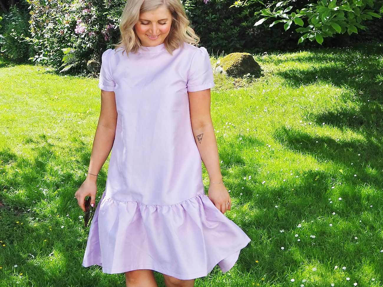 resume manon dress lilac