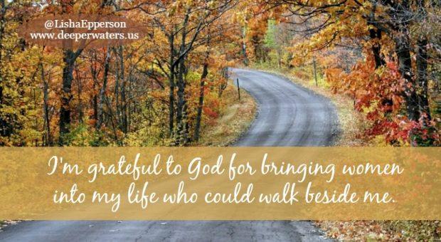 road to motherhood Women-Walking-Beside-Me