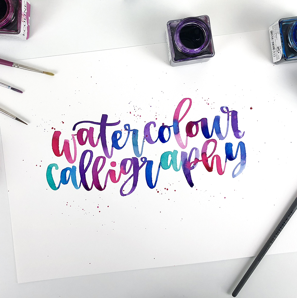 Calligraphy Online Watercolour Calligraphy Online Course Payment Plan