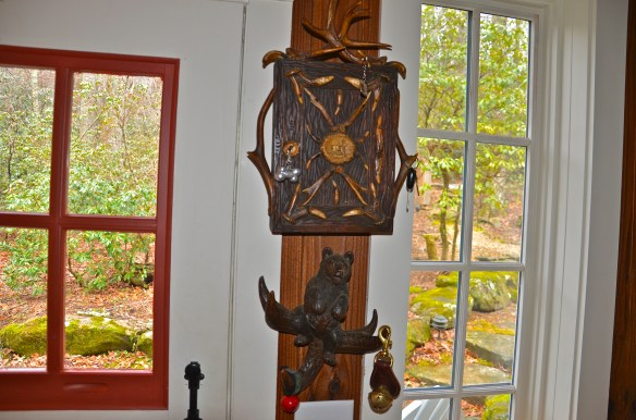 Black Forest carvings are in every nook and cranny