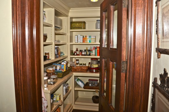 The walk in pantry makes organization a breeze ... if you need a little help in that area
