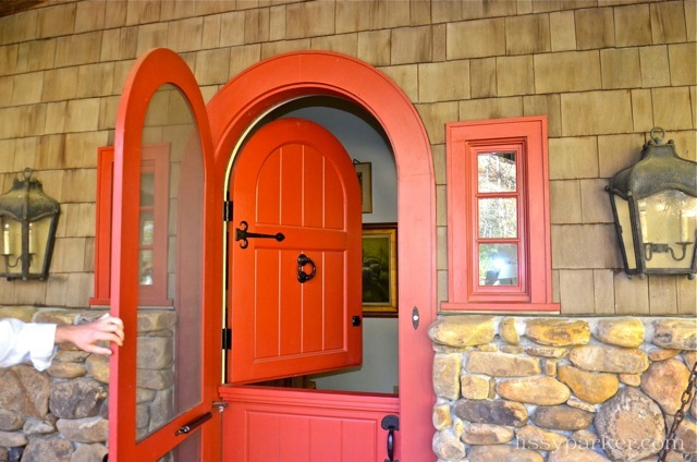 What's not to love about a Dutch door