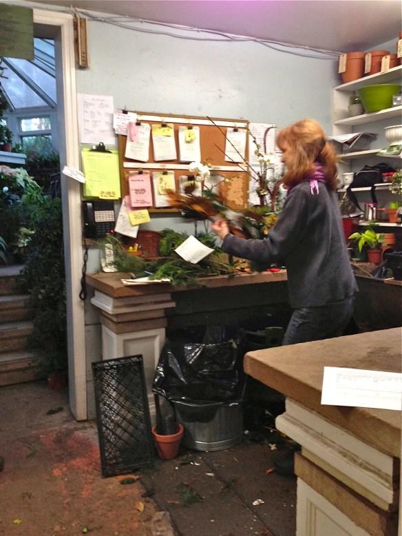 Cute elves working away in the workshop