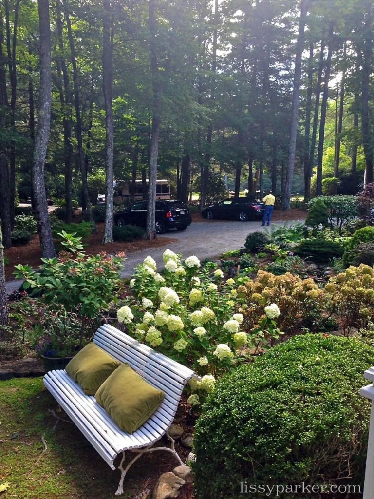 Circular drive welcomes visitors