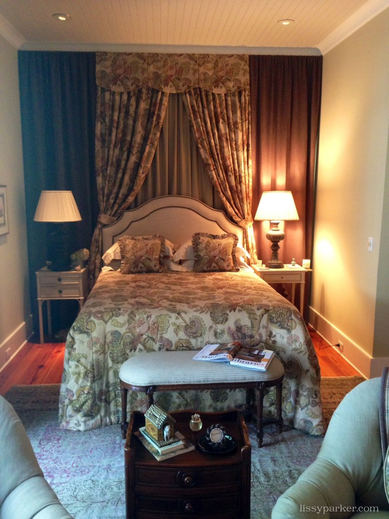 Master Bedroom has a small sitting area at the foot of the bed