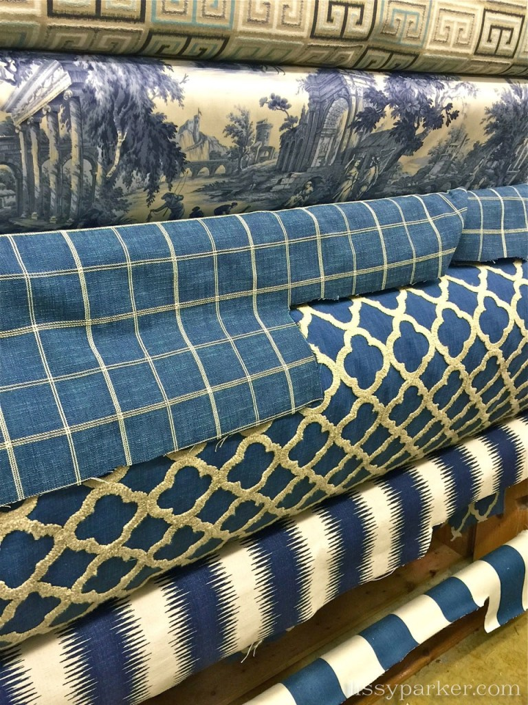 Window pane check would look great for a duvet or pillows