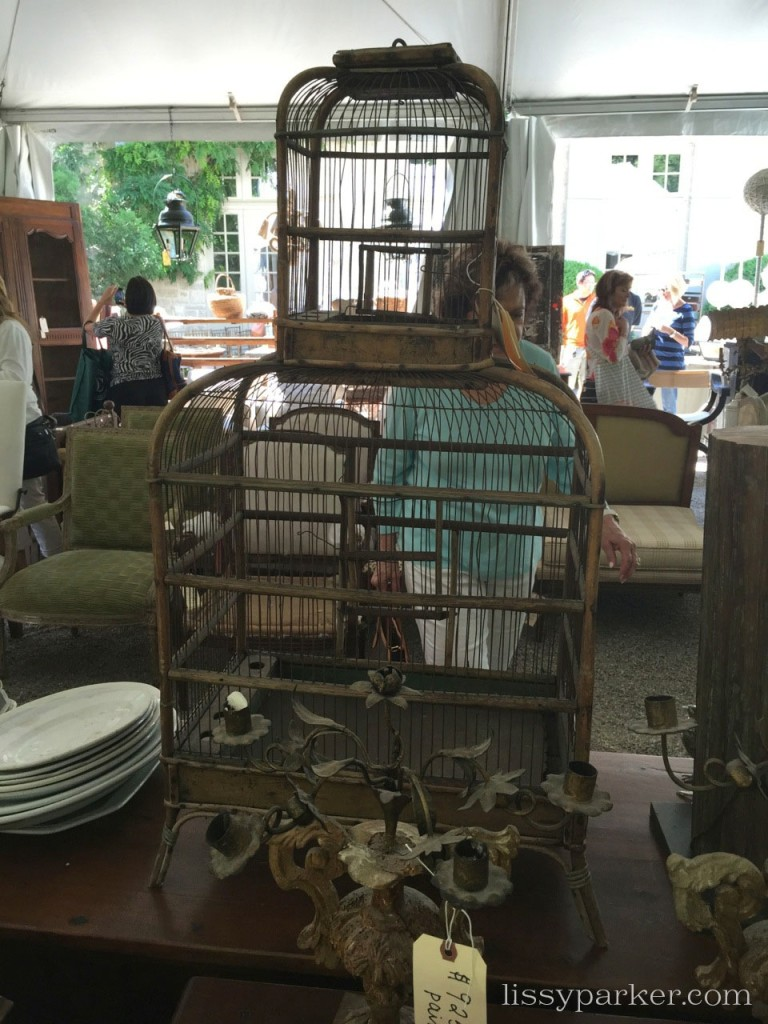 Large selection of bird cages