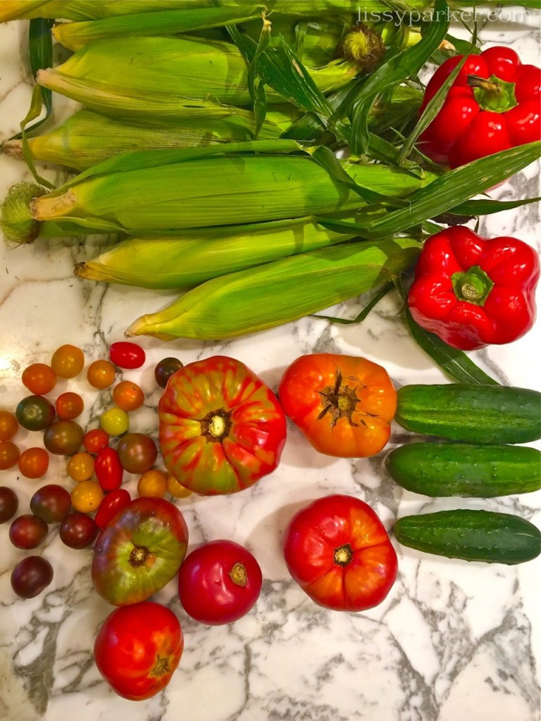 This is my veggies of the day—Farm to Table